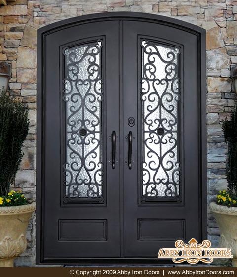 Genial D1184 U2013 Double Iron Door Siena