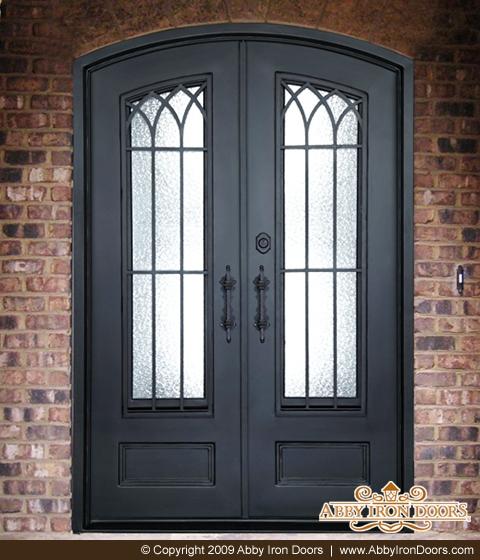 & D1185 - Double Iron Door Enzo - Abby Iron Doors
