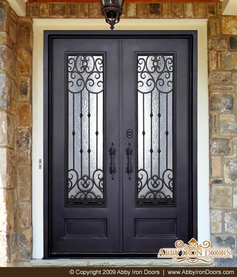 Exceptionnel D1453 U2013 Double Iron Door Amara