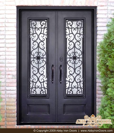 Delicieux D1454 U2013 Double Iron Door Siena