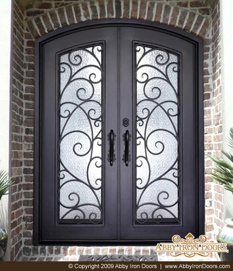 & D2741 - Double Door Jolee - Abby Iron Doors