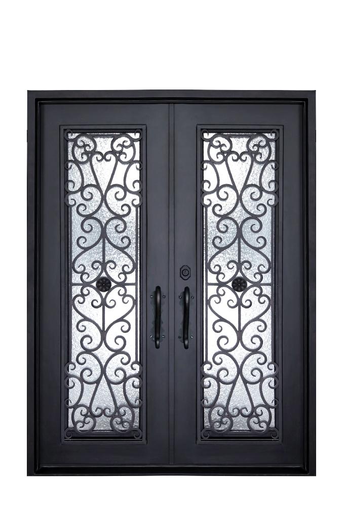 D2564 Double Door Siena Abby Iron Doors