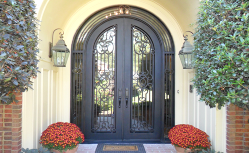 iron doors