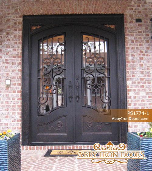 PS1774. Iron Doors ... & Iron Entry Doors | Abby Iron Doors