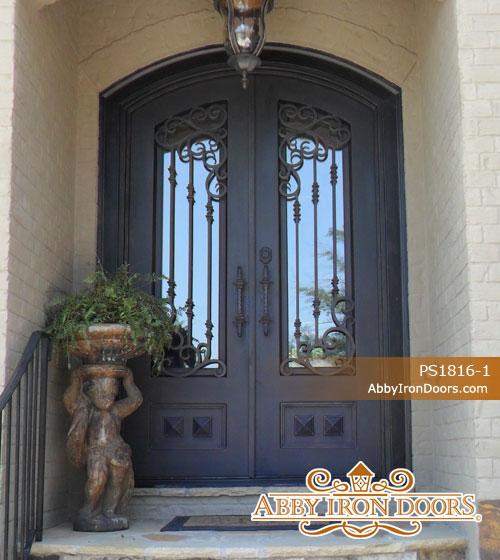 PS1816. Iron Doors ... & Custom Iron Entry Doors | Abby Iron Doors