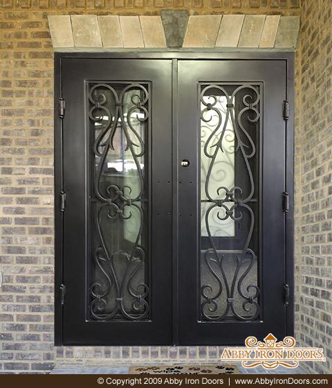 S2961 U2013 Double Iron Entry Door