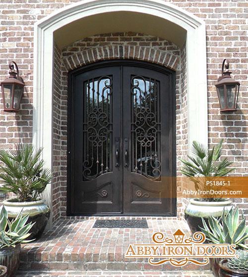PS1845 & Iron Entry Doors | Abby Iron Doors